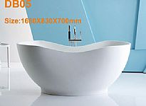 Freestanding Solid Surface Tub